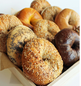 Bagels with a SCHMEAR